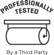 Professionally Tested by a Third Party