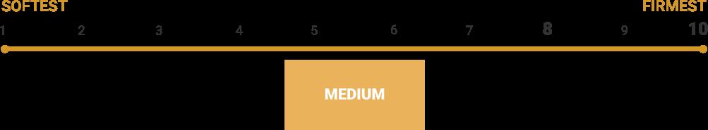 Titan Mattress Firmness Scale